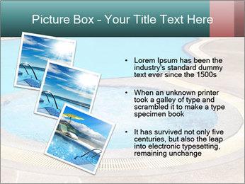 Swimming pool PowerPoint Template - Slide 17