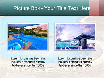 Swimming pool PowerPoint Template - Slide 18