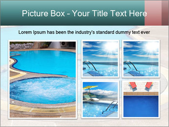 Swimming pool PowerPoint Template - Slide 19