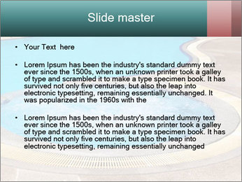 Swimming pool PowerPoint Template - Slide 2
