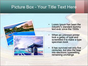 Swimming pool PowerPoint Template - Slide 20