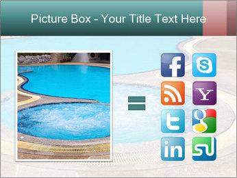 Swimming pool PowerPoint Template - Slide 21
