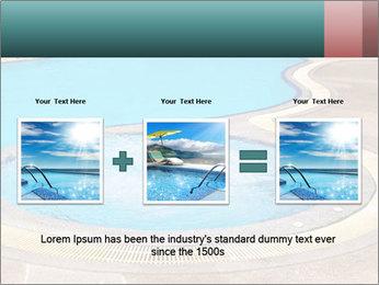 Swimming pool PowerPoint Template - Slide 22