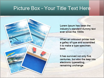 Swimming pool PowerPoint Template - Slide 23