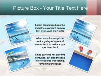 Swimming pool PowerPoint Template - Slide 24