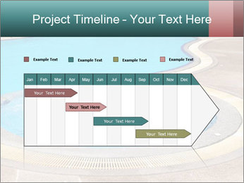 Swimming pool PowerPoint Template - Slide 25