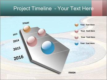 Swimming pool PowerPoint Template - Slide 26