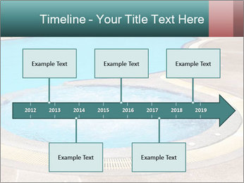 Swimming pool PowerPoint Template - Slide 28
