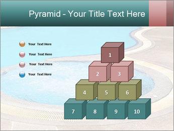 Swimming pool PowerPoint Template - Slide 31