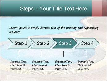 Swimming pool PowerPoint Template - Slide 4