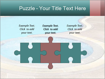 Swimming pool PowerPoint Template - Slide 42