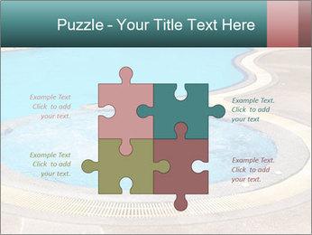 Swimming pool PowerPoint Template - Slide 43