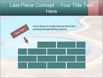 Swimming pool PowerPoint Template - Slide 46