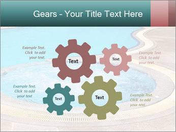 Swimming pool PowerPoint Template - Slide 47