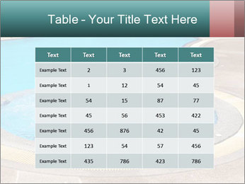 Swimming pool PowerPoint Template - Slide 55