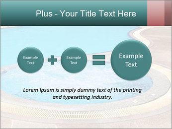 Swimming pool PowerPoint Template - Slide 75