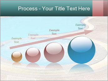 Swimming pool PowerPoint Template - Slide 87