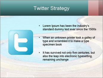 Swimming pool PowerPoint Template - Slide 9