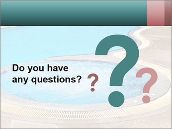 Swimming pool PowerPoint Template - Slide 96