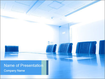 Meeting room PowerPoint Template
