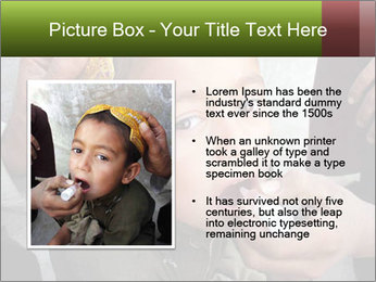 Unidentified child PowerPoint Template - Slide 13