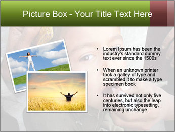Unidentified child PowerPoint Template - Slide 20