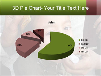 Unidentified child PowerPoint Template - Slide 35