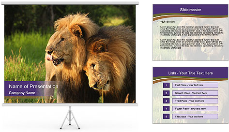 Brothers PowerPoint Template