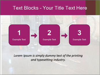 Man cleaning a forklift PowerPoint Template - Slide 71