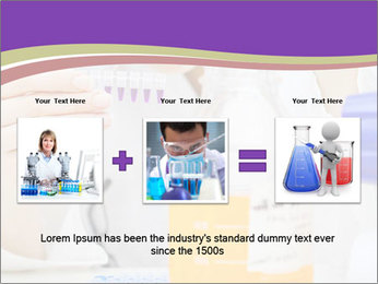 Laboratory assistant PowerPoint Template - Slide 22