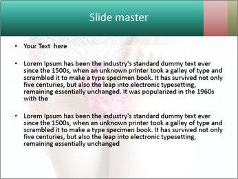 Female abdomen PowerPoint Template - Slide 2