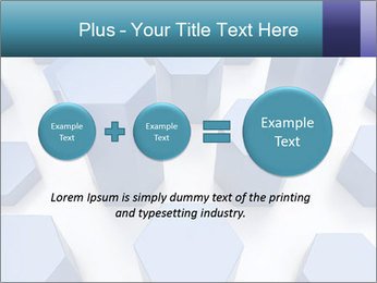 Abstract blue metallic PowerPoint Template - Slide 75