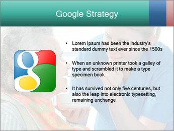 Senior woman PowerPoint Template - Slide 10