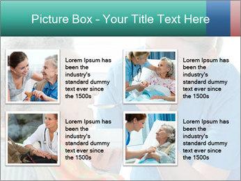Senior woman PowerPoint Template - Slide 14