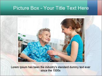 Senior woman PowerPoint Template - Slide 16