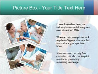 Senior woman PowerPoint Template - Slide 23
