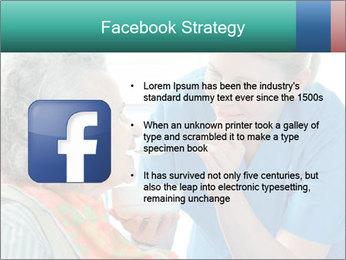 Senior woman PowerPoint Template - Slide 6
