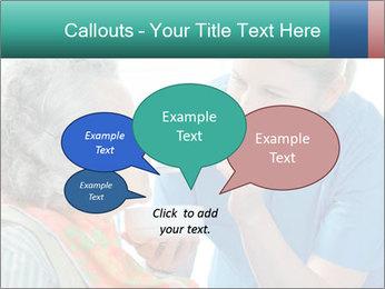 Senior woman PowerPoint Template - Slide 73