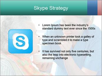 Senior woman PowerPoint Template - Slide 8