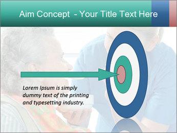 Senior woman PowerPoint Template - Slide 83
