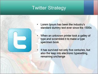 Senior woman PowerPoint Template - Slide 9