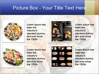 Delicious spider roll PowerPoint Template - Slide 14