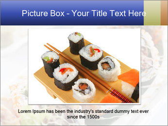 Delicious spider roll PowerPoint Template - Slide 15