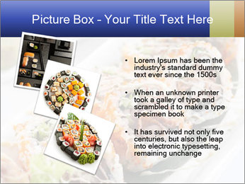 Delicious spider roll PowerPoint Template - Slide 17