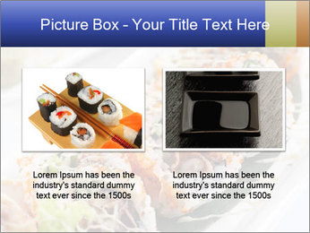 Delicious spider roll PowerPoint Template - Slide 18