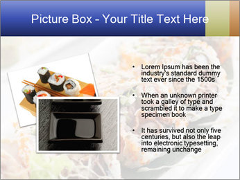 Delicious spider roll PowerPoint Template - Slide 20