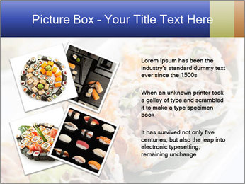 Delicious spider roll PowerPoint Template - Slide 23