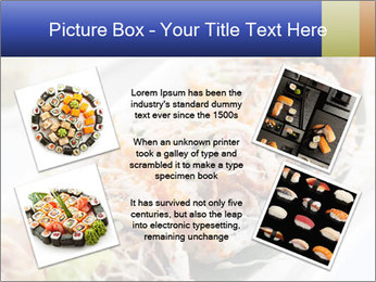 Delicious spider roll PowerPoint Template - Slide 24