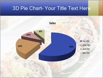 Delicious spider roll PowerPoint Template - Slide 35