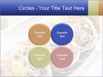 Delicious spider roll PowerPoint Template - Slide 38